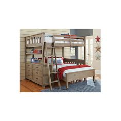 Shop a great selection of NE Kids Highlands Full Loft Bed Desk Driftwood. Find new offer and Similar products for NE Kids Highlands Full Loft Bed Desk Driftwood. Bunk Beds With Drawers, Bunk Beds With Stairs, Kids Bunk Beds, Loft Beds, Boys Bunk Bed Room Ideas, Bunk Bed Ideas For Small Rooms, Plans Loft, Bed Plans, L Shaped Bunk Beds