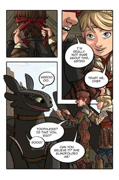 Hiccup's Birthday - Page 1/5 by axondrive