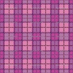 Image Detail for - Pixel Plaid in Magenta and Violet | Stock Vector © Lisa Fischer ...
