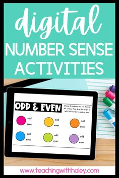 Digital number sense activities {Google Classroom and Seesaw Compatible} by Teaching with Haley. Thousands of teachers agree this is an engaging and effective way to build number sense. Each time students do these activities, they can use different numbers. You can print the included number cards or they can use our original number generator website! Read more about the different number sense math lessons that can be taught virtually. Suitable for Kindergarten, 1st, and 2nd-grade students.