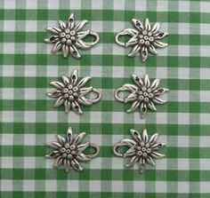 Edelweiss! Eyelets for traditional bavarian dirndl ANYONE TRY TO MAKE THESE THEMSELVES LET ME KNOW