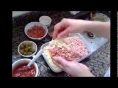 Receita e como preparar Mini Pizza ! ( modo de preparo completo ) - YouTube
