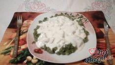 Recept Špenátové halušky s kuřecím a smetanovou omáčkou Thing 1, Grains, Food And Drink, Rice, Seeds, Laughter, Jim Rice, Korn
