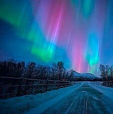 Northern lights in Russia 17.03.15