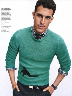 GQ MAGAZINE Clint Mauro by Tom Schirmacher. Kelly McCabe, Fall 2015, www.