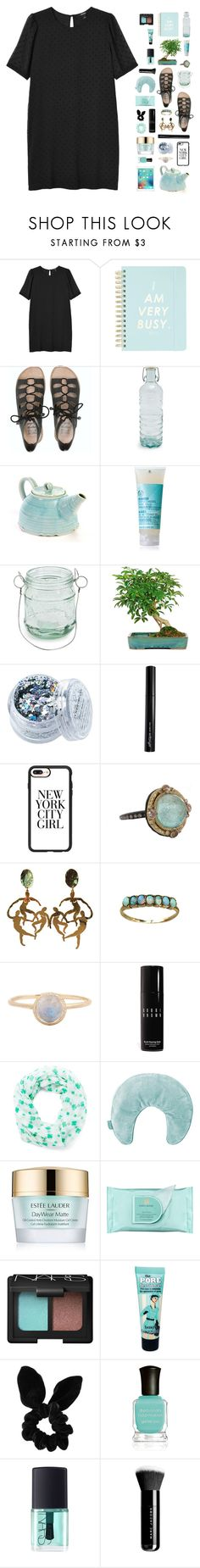 """in and out."" by ajeungs ❤ liked on Polyvore featuring Monki, Billabong, Global, Design Ideas, In Your Dreams, Antonym, Casetify, Emily Armenta, Bobbi Brown Cosmetics and David & Young"