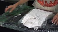 How to pack a shirt to avoid wrinkles