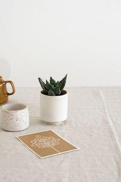 Maypole greeting card & Lieblingskeramik | Foto: Sabine Wittig