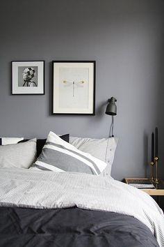 Paredes grises, decorativas y elegantes | Decoración                                                                                                                                                      Más
