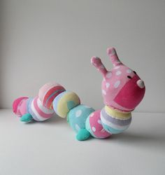 Sock caterpillar   A great way to use up all those scraps of…   Dawn Treacher   Flickr