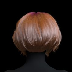 In this project I wanted to test the hair sculpting features in Ornatrix for Maya. I used Redshift for rendering and hair Strand Channels to create the pink and white clumps with several layers of colors. Female model by Eugene Fokin. 3d Face Model, Hair Strand, Bob Hairstyles, Female Models, Sculpting, Hair Cuts, Hair Beauty, Long Hair Styles, Color