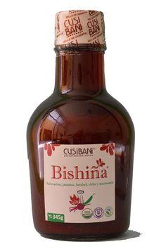 Bishiña Liquida, la mejor opción para el chamoy natural sin conservadores, una mezcla de sal marina, betabel, jamaica y xoconoxtle
