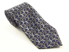 Indian Navy Logo Necktie. Quality : Micro Fiber  Design Copy Rights Reserved. Sold By : Toss Marketing Pvt. Ltd.