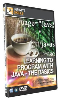 Learning To Program in Java - Training DVD - Tutorial Video Kodi Android, Mac Software, Quickbooks Online, Training Courses, Web Development, How To Introduce Yourself, Programming, Learning, Java