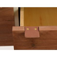 Leather pulls for cabinets