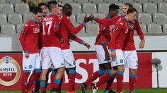 Napoli tager femte sejr i fem EL kampe