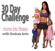 30 Day Challenge Pinterest - Moms Into Fitness