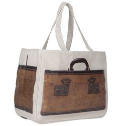 Thursday Friday Inc Vintage Trunks Together Bag - Patina