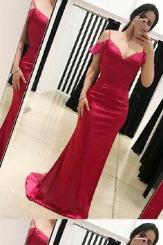 d43225c814f Custom Made Beautiful Red Prom Dress
