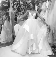 #calgarybride #calgarybridalshop #calgarybridalboutique White Wedding Dresses, Cheap Wedding Dress, Formal Dresses, Calgary, Hayley Paige Bridal, Alta Moda Bridal, Bridal Gowns, One Shoulder Wedding Dress, Ball Gowns