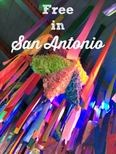 San Antonio Mom Blogs recommended list of free, family-friendly events in San Antonio