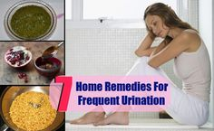 7 Home Remedies For Frequent Urination | http://www.searchhomeremedy.com/7-home-remedies-for-frequent-urination/