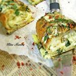 Горячий багет с курицей и сыром