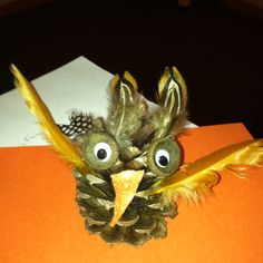 Cute owl at Vacation Bible School