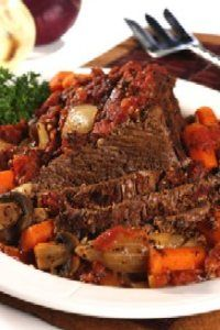 *Italian Style Pot Roast Recipe | Recipes, Recipes, Recipes* -- I love pot roast and how succulent it is once devoured, but I haven't tried italian style pot roast! #SomethingNew