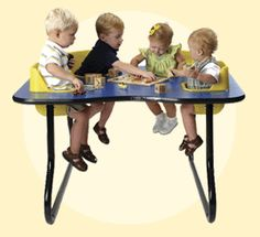 Toddler Tables, Play & Feed Tables, Nursery Tables, Baby Table with Seats at Daycare Furniture Direct
