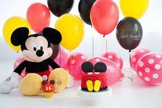 Bolo Smash The Cake Mickey