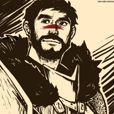my man hawke Hawke Dragon Age, Dragon Age 2, Dragon Age Origins, Garrett Hawke, Character Art, Character Design, Best Rpg, Grey Warden, Fantasy Heroes