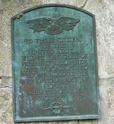 Sweetheart Memorial Plaque Fort Devens by Fort Devens Museum, via Flickr