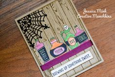 Sweet Hauntings. Hardwood. Stampin' Up! Halloween. Holiday Catalog 2015. Jessica Mink.