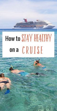 Wondering how to stay healthy on a cruise? With all that opportunity for indulgence it's a challenge. Here are 11 easy ways to still indulge yet not put on weight or feel sick. Tips from our recent Western Caribbean Cruise. Happy Pinning and Cruising! Packing For A Cruise, Cruise Travel, Cruise Vacation, Disney Cruise, Vacations, Bahamas Cruise, Vacation Trips, Vacation Ideas, Royal Caribbean
