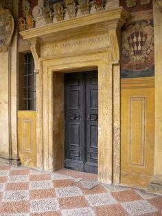 ysvoice: | ♕ | Renaissance portal in Bologna, Italy | by © annibale barone