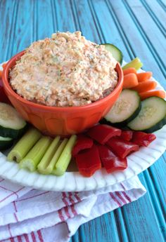Dairy-free Veggie Dip | Plaid and Paleo Whole30