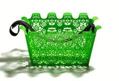 CARRIE BICYCLE BASKET GREEN by Marie-Louise Gustafsson