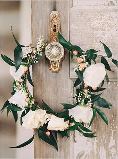 boho floral crown #floralcrown @weddingchicks