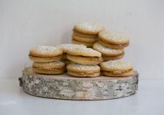 Alfajores recipe from PBS Food A Peruvian cookie similar to dulce de leche