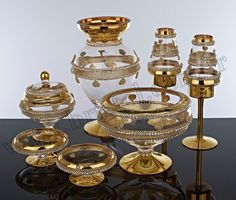 Hurrem 7 tracks with a set of 24-carat gold gilded all are hand-made