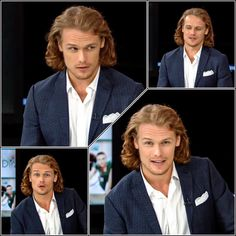The most handsome and kindhearted man on the planet  #SamHeughan