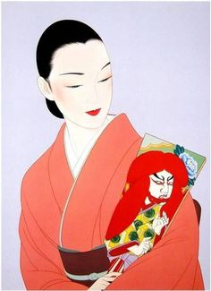 ART JAPANESE ICHIRO TSURUTA by kangur06   Merci