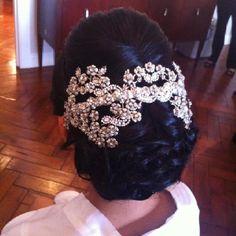 African American. Black Bride. Wedding Hair. Natural Hairstyles. Bride hair by Tara Fontana Fairytale Hair and Makeup