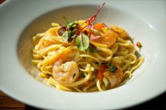 Gorgeous seafood pasta!