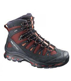 Las botas de montaña Salomon Quest 4D 2 GTX Hombre. Cordones seguros y membrana GoreTex. http://www.shedmarks.es/botas-montana-y-trekking-hombre/2823-botas-salomon-quest-4d-2-gtx.html