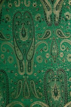 Our high-end Green Silk Brocade 429 Fabric is machine-woven with silk threads in intricate designs and patterns. Buy fabric by the Yard at NY Designer Fabrics. Green Silk, Green Fabric, Fabric Beads, Brocade Fabric, Buy Fabric, Types Of Yarn, Home Decor Fabric, Silk Thread, Fabric Design