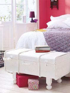 Möbel selber bauen - Umstyling für alte Koffer