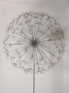 Harry Bertoia's First Dandelion Sculpture | From a unique collection of antique and modern sculptures at http://www.1stdibs.com/furniture/more-furniture-collectibles/sculptures/