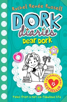 Dork Diaries Dear Dork: By Rachel Renee Russell. This is the last book in the series. Cool Books, I Love Books, My Books, This Book, Dork Diaries Series, Dork Diaries Books, I Love Reading, Kids Reading, Roses Book